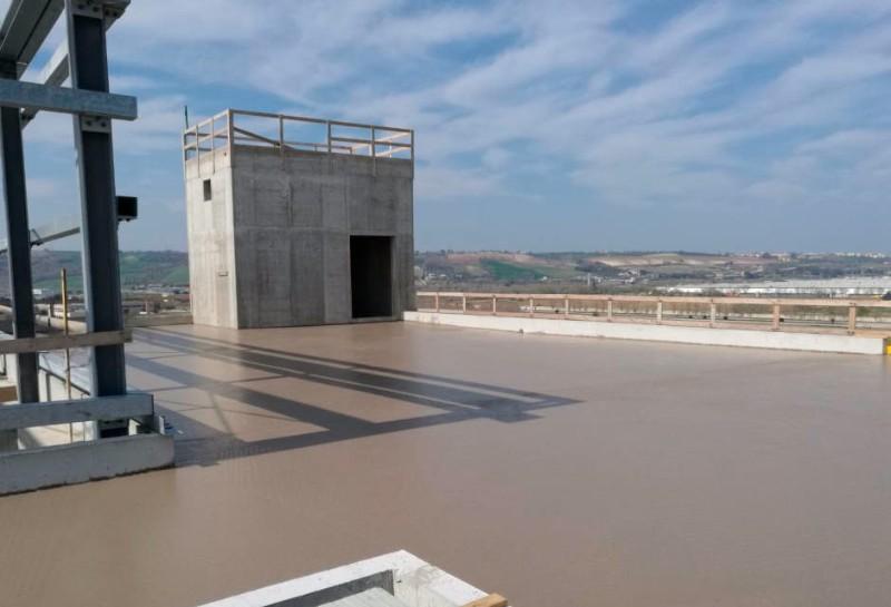 Betoncino esterno su terrazzo